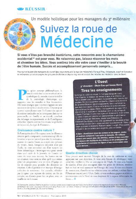 Energies – Suivre la roue de médecine
