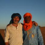 en voyage dans le désert