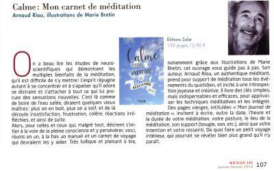 Nexus – Calme : Mon carnet de méditation