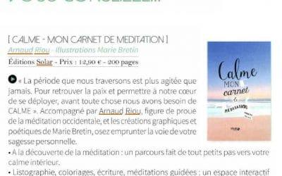 Assistante plus – «Calme – mon carnet de méditation»