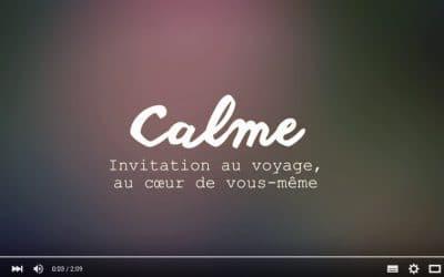 Calme, un carnet de voyage à l'intérieur de vous-même