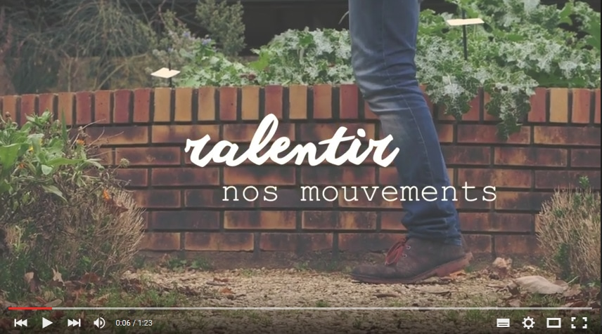 Ralentir nos mouvements