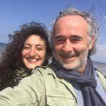 Hélène Tysman et Arnaud Riou le matin de la signature