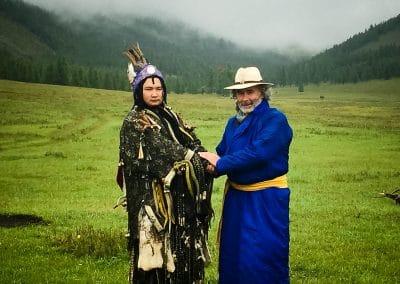 Avec Har Sono chaman mongol