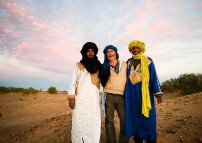 Avec mes amis du désert