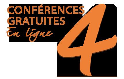 4 conférences